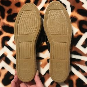 Free People Shoes - Free People Seville Navy Espadrille, size 37 NWOT